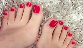1/3 mani piedi smalto nef