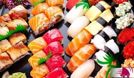Sushi box 64 p + consegna