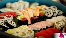 42 pz sushi+bibite