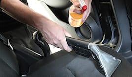 Lavaggio seggiolini auto