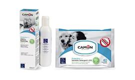 Salviette + shampoo camon