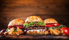 Burger 200 gr + bibita