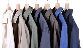 10 camicie lavate stirate