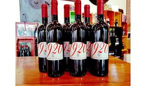 Vino rosso '1920' -40%!