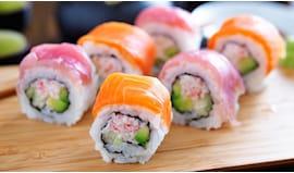 Sushi e sashimi take away