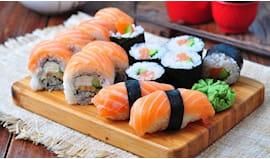 Sushi e sashimi domicilio