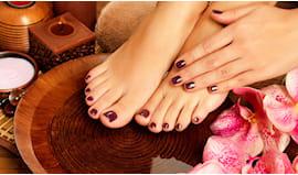 Pedicure + manicure