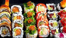 74 pezzi di sushi kiki
