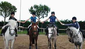 3 lezioni equitazione