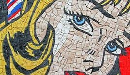 Mosaico roy lichtenstein