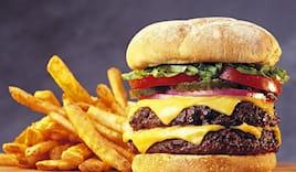 Omaggio hamburger maxi!