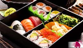 Sushi box 36 pz a casa