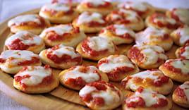 10 pizzette miste!