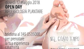 Open day riflessologia