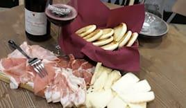 Tigelle+vino tavernacolo