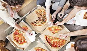 Pizza party x10 persone