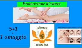 6 massaggi + extension