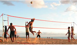 Campo beach volley