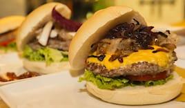 Hamburger gourmet x2