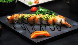 Cena sushi fusion luxury