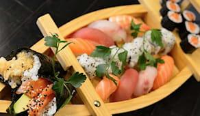Menù wasabi con bevanda