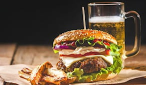 Hamburger x2 red lion