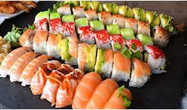 Take away sushi king 40pz