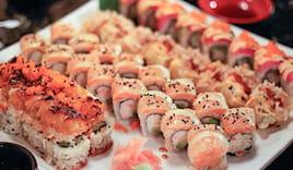 Sushi king asporto 60 pz