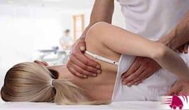 Trattamento di osteopatia