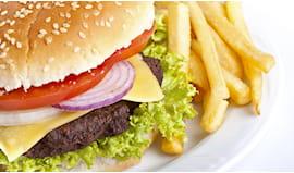 Omaggio menu hamburger
