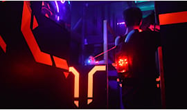Lasergames di sera!