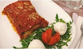 Parmigiana/gateau omaggio