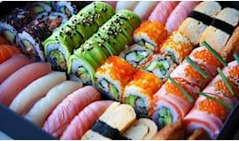 60 pezzi sushi take away