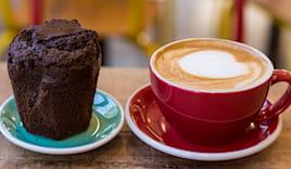 Cappuccino+muffin x2