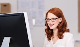 Occhiale per computer