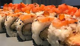 Sushi+acqua+birra per 4