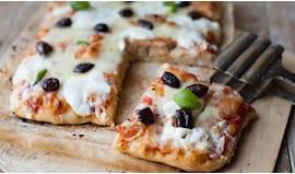 Teglia pizza farcita
