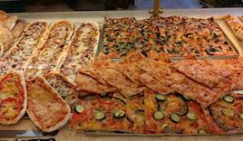 Mezza teglia di pizza