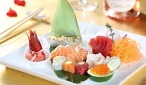 Aperitivo sushi gomi