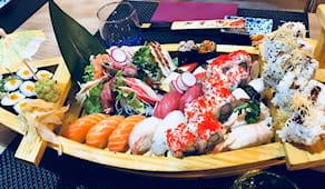 Menù barca ninja sushi x2