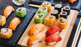 Day use, sushi & spa