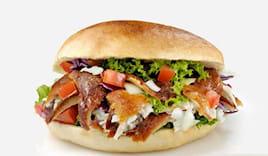 Menù big panino kebab