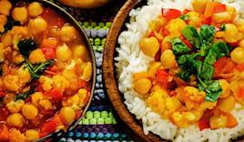 Cena indiana vegetarianx2