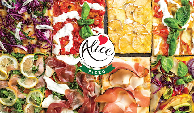 1 o 2 teglie alice pizza
