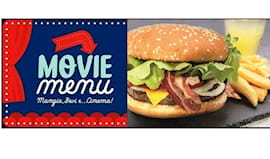 Menù hamburger + cinema