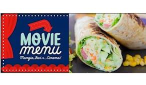 Menù burrito + cinema