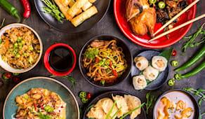 Pranzo cinese chinatown