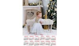 Calendario 30x45 con foto