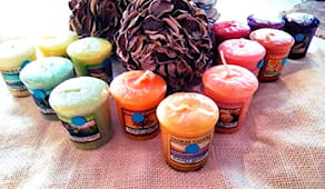 5 votive yankee candle