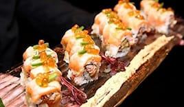 Cena sushi alba omaggio